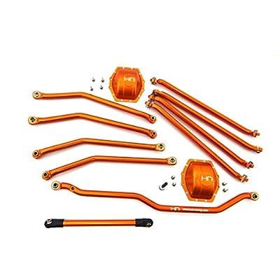 Hot Racing WRA8000E03 Aluminum Orange Link Set - Axial and