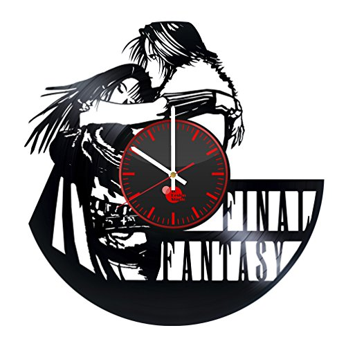 Final Fantasy Science Fiction Game Handmade Vinyl Record