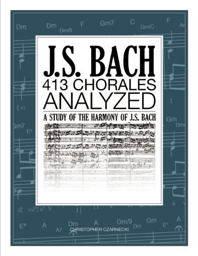 J.S. Bach 413 Chorales: Analyzed PDF