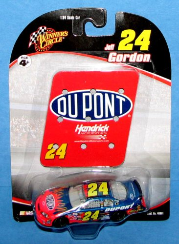 Jeff Gordon #24 Dupont Flames Pit Board Sign 1/64 Winners Circle