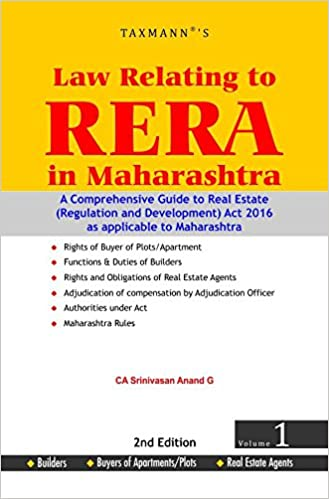 Law Relating to RERA in Maharashtra Maharashtra RERA Check Lists for Buyers/Builders/Real Estate Agents