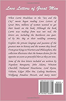 love letter books sex and the city in Oklahoma