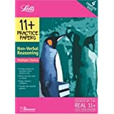 11+ Practice Papers Multiple-choice Non-Verbal Reasoning: Contains 4 Tests - 11A, 11B, 11C, 11D (Letts 11+ Practice Papers)