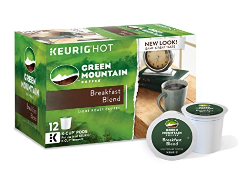 Green Mountain Coffee Breakfast Blend, Keurig K-Cups, 72 Count Kitchen