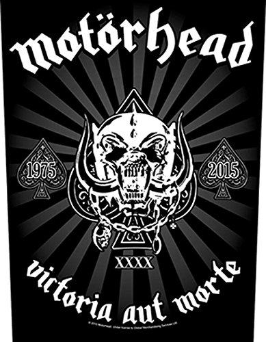 MOTÖRHEAD Back patch logo schiena #15 VICTORIA AUT natura
