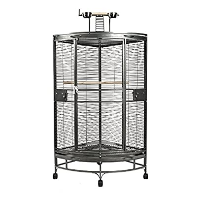 Large High Quality Corniche Corner Bird Parrot Cage