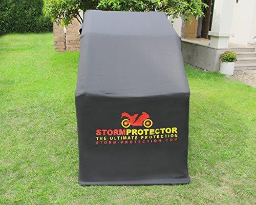 StormProtector-Garage-per-Moto-Coprimoto-Impermeabile-con-Struttura-in-Acciaio-Bonificato-per-Scooter-Motociclo-Motocicletta