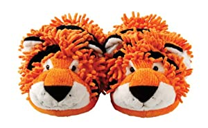 Aroma Home Fuzzy Friends Slippers - Tiger