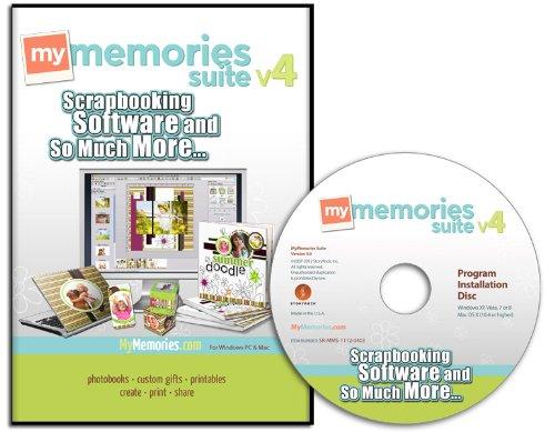 MyMemories Suite 4.0 Digital Scrapbooking Software
