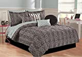 RAMPAGE 5-Piece Comforter Set, Full, Lily