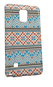 Bagsfull Silicon Rubberised Tribal Printed Back Cover for Sony Xperia Z3