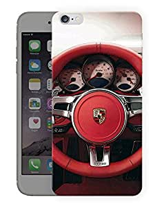 "Humor Gang Supercar Wheel Printed Designer Mobile Back Cover For ""Apple Iphone 7"" (3D, Matte, Premium Quality Snap On Case)"