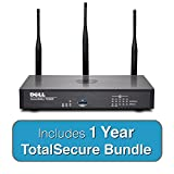 DELL SonicWALL TZ300W Wireless TotalSecure Bundle - Includes TZ 300W UTM Firewall & 1 Year Comprehensive Gateway Security Suite