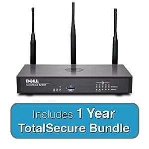 Amazon Com Dell Sonicwall Tz300w Wireless Totalsecure