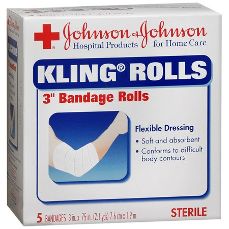 First Aid Covers Kling Medium Rolled Gauze