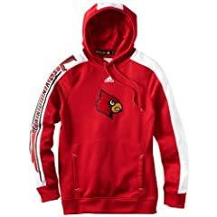 NCAA Louisville Cardinals Ladies Sideline Swagger Hood by adidas