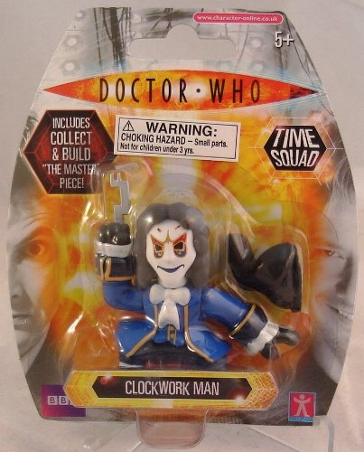 Doctor Who Time Squad Clockwork Man