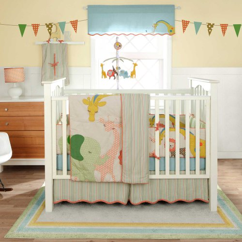 Bananafish Migi Little Circus 3 Pc Crib Set front-590352