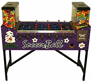Foosball Soccer Gumball Machine