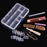 Appex Needle Felting Starter Kit Set Wool Felt Tools Needle Craft Kit with Handy Case