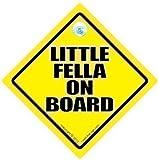Little Fella On Board Little Fella On Board Car Sign Little Fella Baby on Board Sign Baby on Board Decal Baby Sign Baby Car Sign Novelty Car Sign Bumper Sticker Little Man Car Sign Baby Car Signs