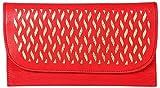 Kuero Women's Clutch (Red)