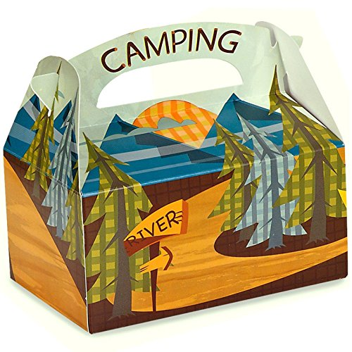 Party Destination 193187 Lets Go Camping Empty Favor Boxes