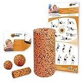 Blackroll Orange (Das Original) - DIE Selbstmassagerolle - Starter-Set PRO - inkl. Übungs-DVD und Übungsposter
