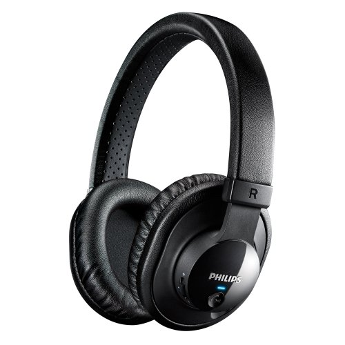 Philips Shb7150Fb/27 Wireless Bluetooth Headphones With Microphone (Black)