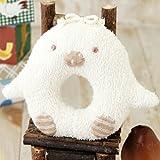 (ハマナカ) ベビー 赤ちゃん おもちゃ の 手作りキット ペンギンのがらがら ※オーガニックコットン 使用
