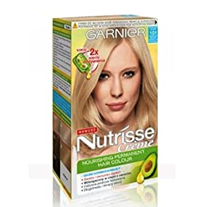 garnier nutrisse creme hair colour dye extra light sandy