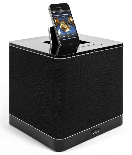 Arcam Rcube Portable iPod Dock Music System Black