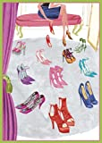 Caspari Entertaining Shoe Shopping Assorted Blank Notecards, Box of 8
