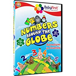 BabyFirst Numbers Around the Globe - Adventures in Counting