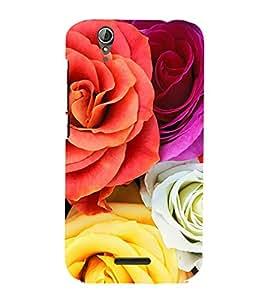99Sublimation Bunch of Roses 3D Hard Polycarbonate Designer Back Case Cover for Acer Liquid Z630 :: Acer Liquid Z630S