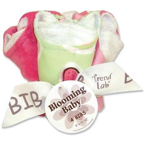 Trend Lab 4-piece Bib Set - Juicie Fruit
