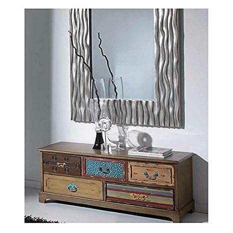 Giner y Colomer - Crespo Decoración_Mueble T.V. madera