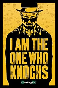 Breaking Bad I Am the One Who Knocks Maxi Poster