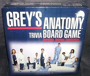 Amazon.com: Grey's Anatomy Trivia Board Game: Toys & Games