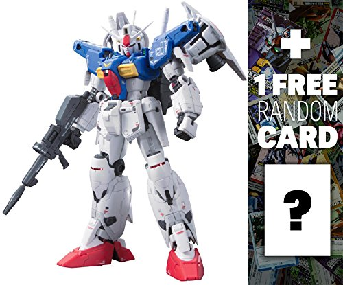 RX-78GP01-FB Gundam Full Burnern: Gundam Real Grade 1/144 Model Kit &1 Official Gundam Japanese Trading Card Bundle (RG #013) (Gundam 144 Master Grade compare prices)