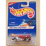 1996 #10 Dogfighter Razor Wheels #375 Collectible Collector Car Mattel Hot Wheels 1996 First Editions 1:64 Scale