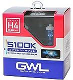 ミラリード(MIRAREED) ハロゲンバルブ GWL エクセレントホワイトバルブ H4 5100K 【車検対応】 HIDクラスの輝きと白さ S1408