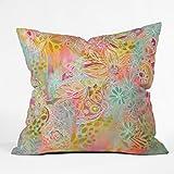 DENY Designs Stephanie Corfee Everything Nice Throw Pillow, 18 x 18