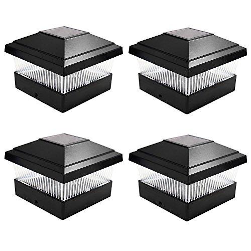 4-x-schwarz-solarbetrieben-mit-led-aussen-garten-terrasse-zaun-quadratisch