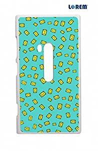 Lorem Back Cover For Nokia Lumia 920 -Multicolor-L14681