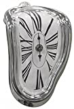 JumblTM Novelty Melting/Time Warp Clock - Sits on Shelf to Create Illusion of a Timepiece Melting Down