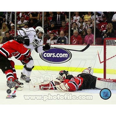 (20x24) Anze Kopitar Game Winning Overtime Goal Game 1 of the 2012 NHL Stanley Cup Finals Glossy Photo Photograph