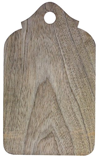 Souvnear 9.5 Inch Wooden Chopping Board - Handmade Food Cutting And Slicing Board In Mango Wood From India front-295474