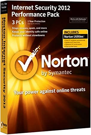 Norton Internet Security 2012 Performance Pack, 3 Computers, 1 Year Subscription (PC)