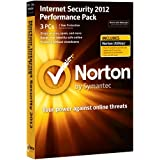 Norton Internet Security 2012 Performance Pack, 3 Computers, 1 Year Subscription (PC)by Norton from Symantec